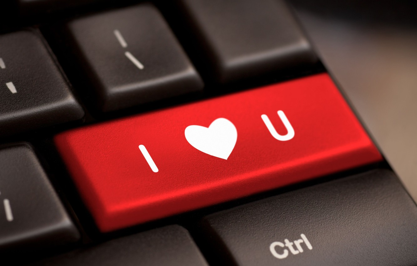 Wallpaper Computer Red Background Wallpaper Mood Heart Wallpaper Keyboard Love Heart I Love You Widescreen Background Full Screen Hd Wallpapers Widescreen Images For Desktop Section Nastroeniya Download