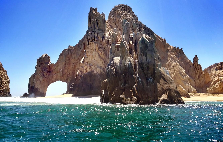 Photo wallpaper beach, mexico, cabo, San Lucas, loscabos, arch, bajacaliforniasur