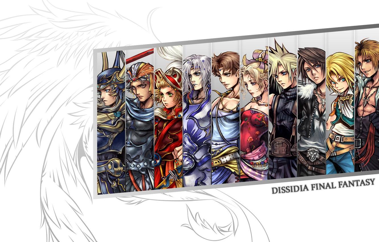 Photo wallpaper Cloud, Final fantasy, Dissidia Final Fantasy