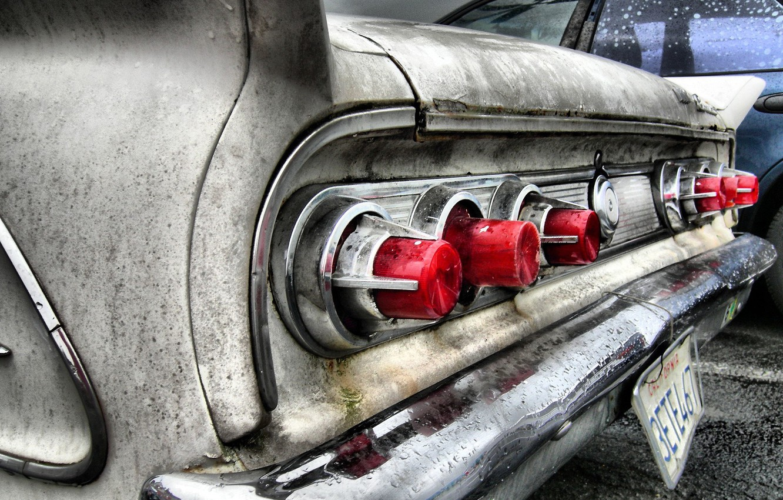 Photo wallpaper auto, style, lights