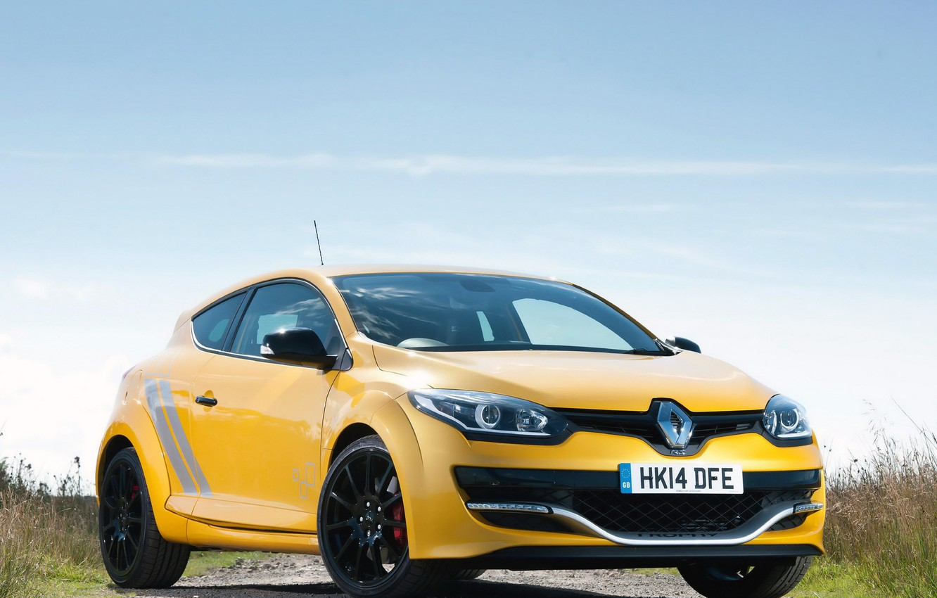 Photo wallpaper Renault, Megane, 275, '2014, Trophy-R, R.S.