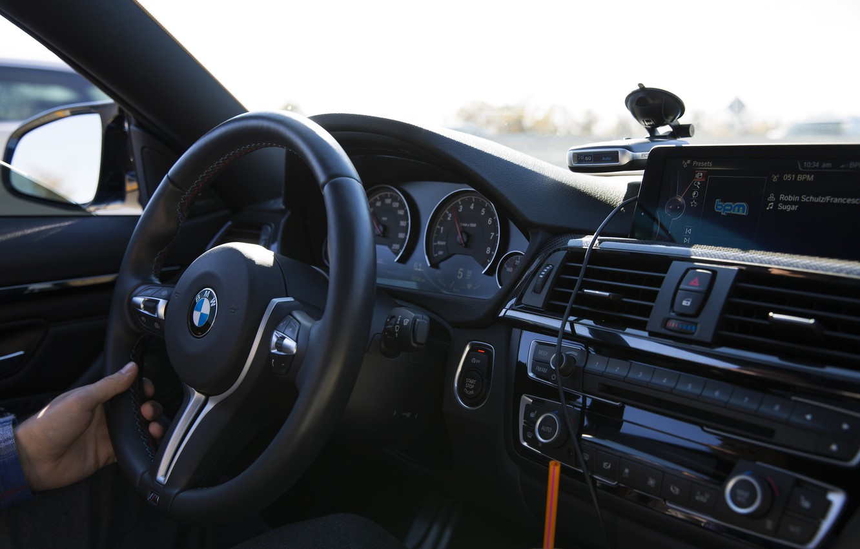 Photo wallpaper BMW, Interior, F82