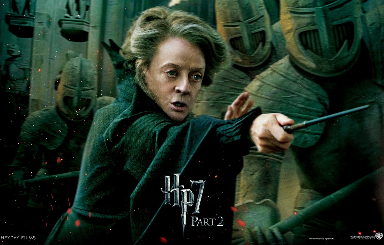 Wallpaper Warriors Harry Potter And The Deathly Hallows Part 2