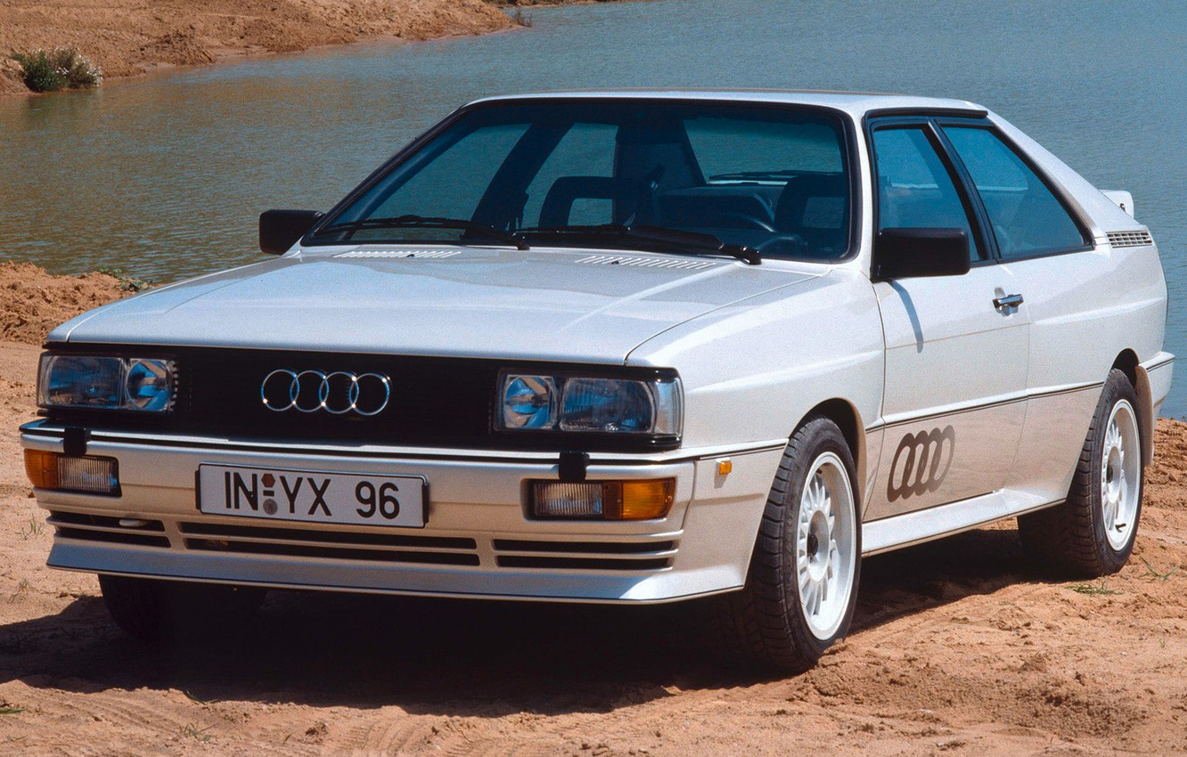 Photo wallpaper audi, quattro