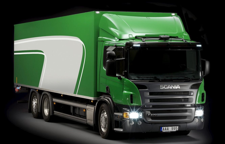 Photo wallpaper Scania, 6x2, p270, ecolution