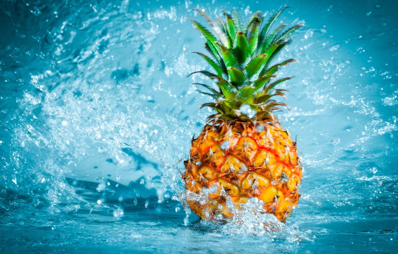 pineapple fruit water