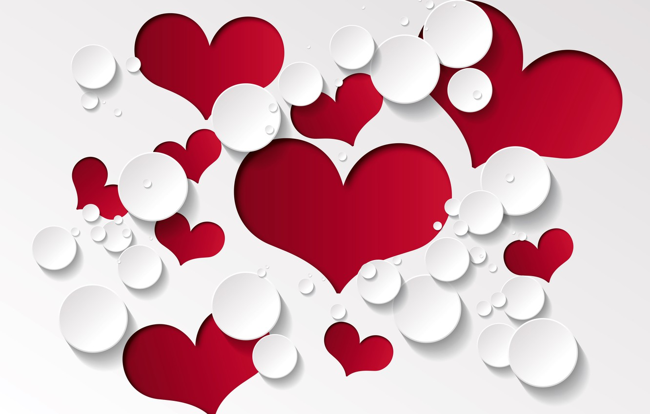 Wallpaper Love Background Hearts Red Design Romantic Hearts