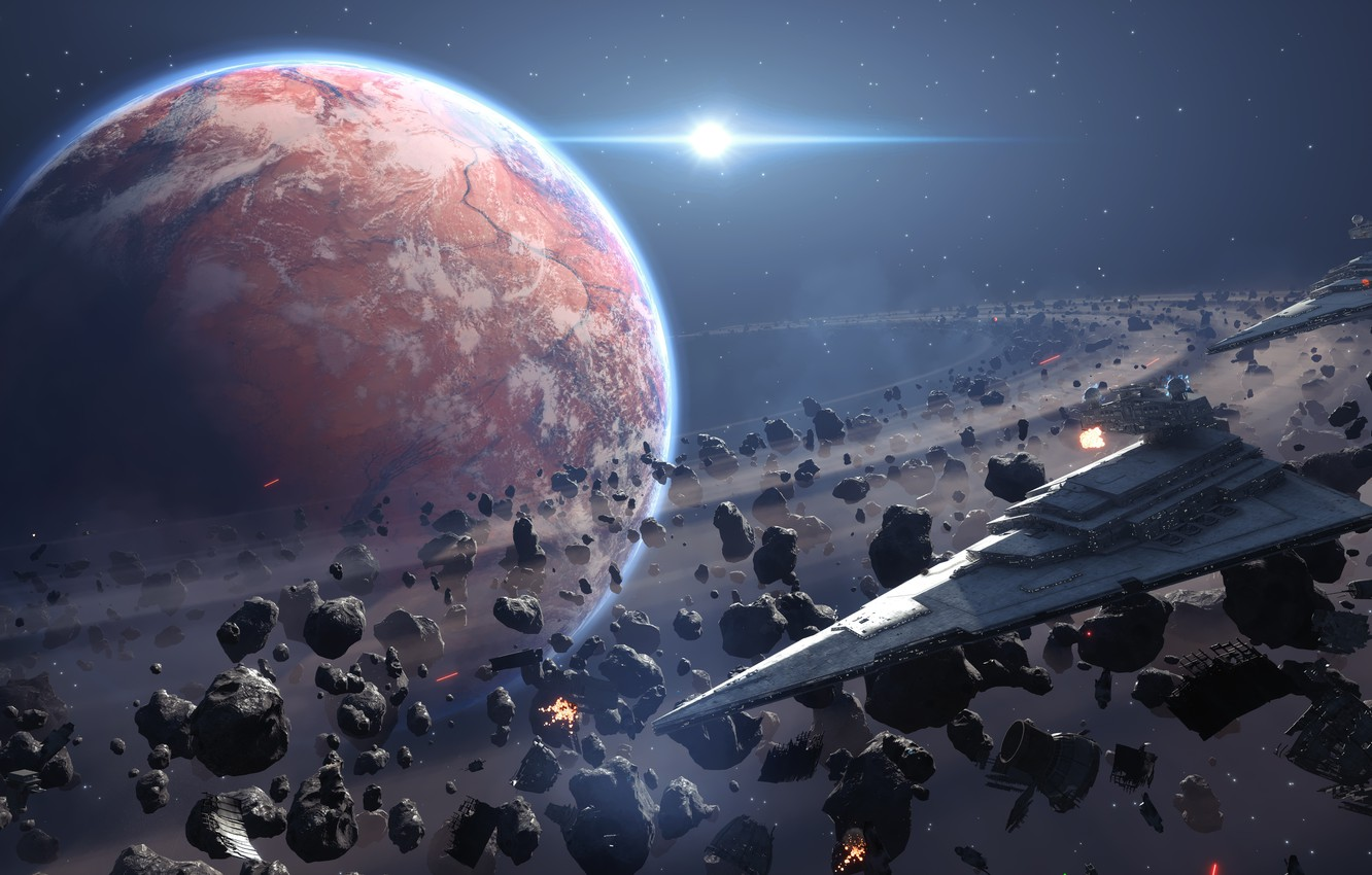 Wallpaper Space Game Space Space Star Destroyer Star Destroyer Electronic Arts Dice Star Wars Battlefront Images For Desktop Section Igry Download