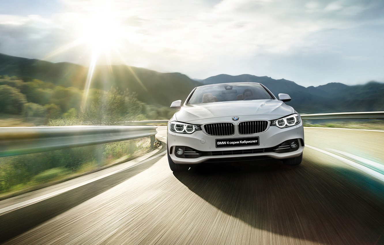 Photo wallpaper BMW, BMW, convertible, Cabrio, 4 series, 2015