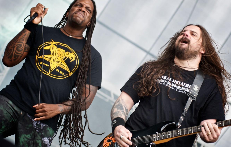 Photo wallpaper group, metal, rock, hardcore, thrash metal, groove metal, Andreas Kisser, death metal, groove -metal, Sepultura, …