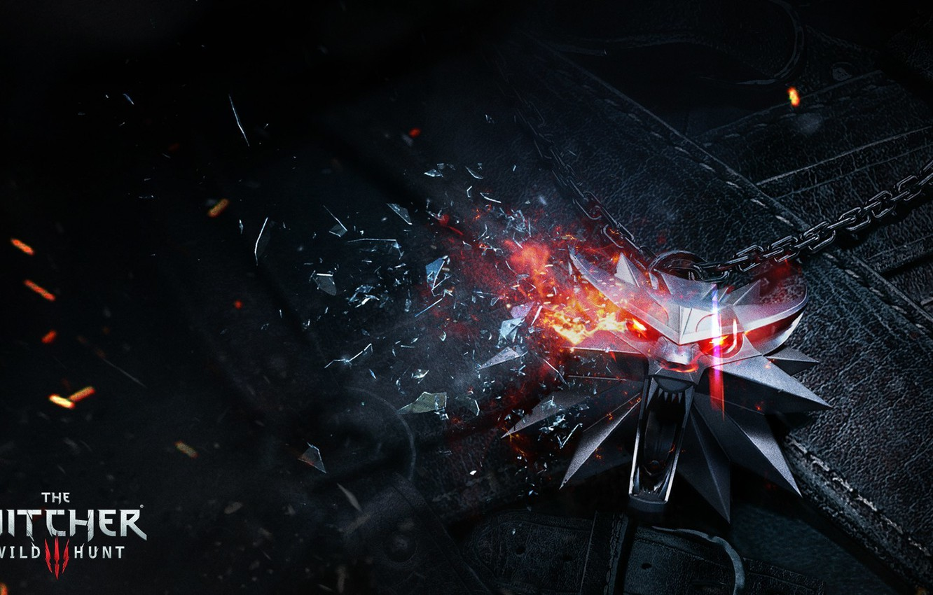 Photo wallpaper the Witcher, mosaic, CD Projekt RED, The Witcher 3: Wild Hunt