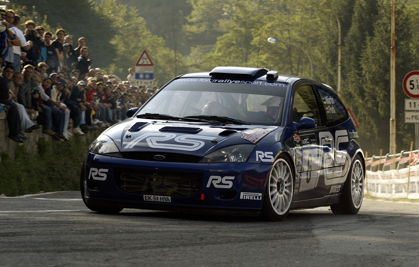 Photo wallpaper Ford, Ford, Martin, Focus, WRC, Rally, Rally, Focus