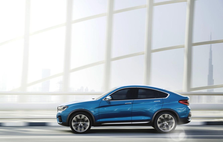 Photo wallpaper Concept, Auto, Blue, The city, BMW, Machine, Boomer, BMW, Day, Jeep, Dubai, Car, Side view, …