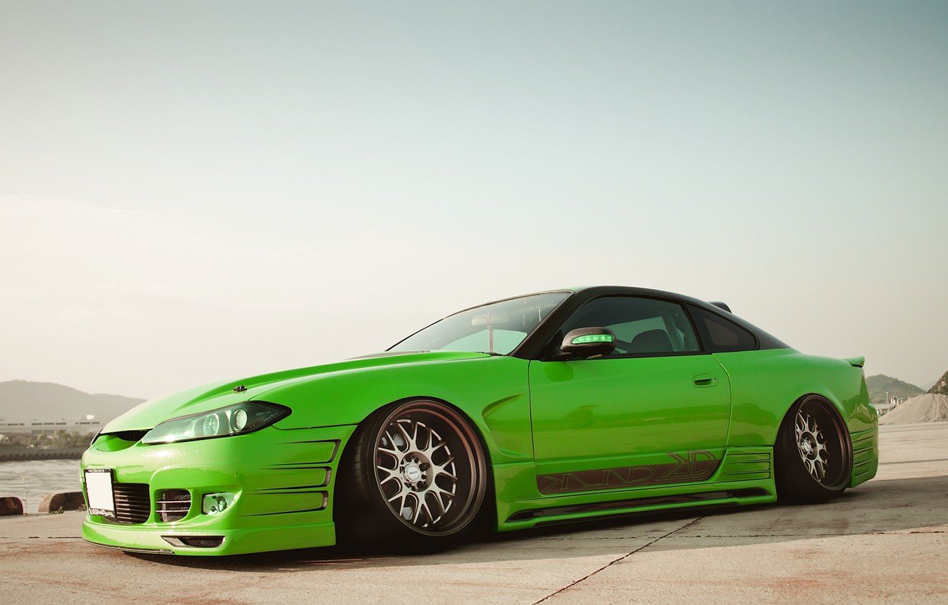 Photo wallpaper nissan, Nissan, Sylvia, silvia s15