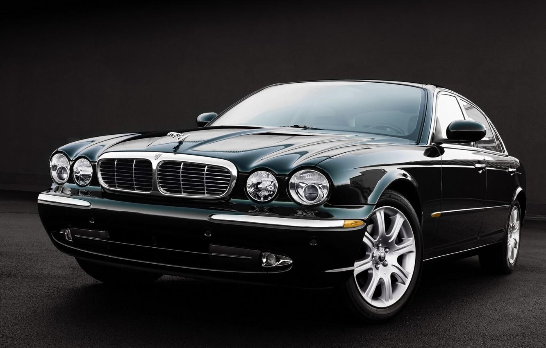 Photo wallpaper Jaguar, Jaguar, sedan, Sedan, XJ8