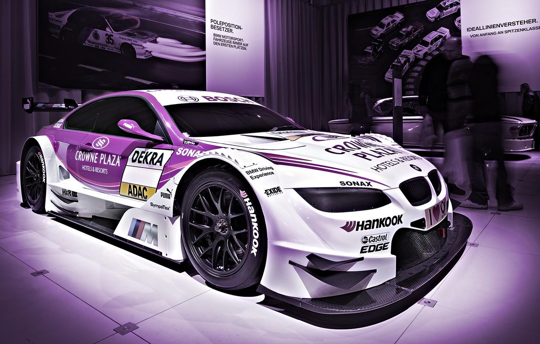Photo wallpaper purple, asphalt, sport, BMW, speed, track, ring, car, race, exhibition, spoiler, carbon, the car, beauty, …