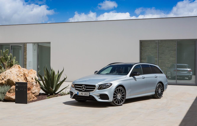 Photo wallpaper Mercedes-Benz, E-Class, Mercedes, AMG, S213