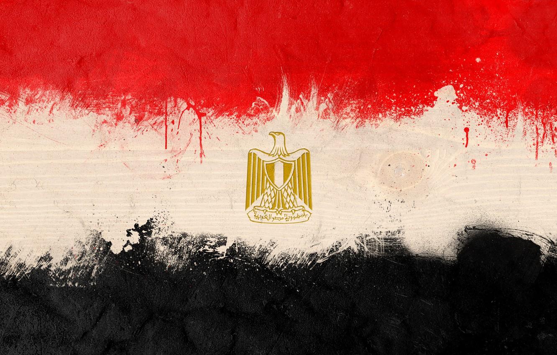 Photo wallpaper FLAG, FLAG, EGYPT, EGYPT