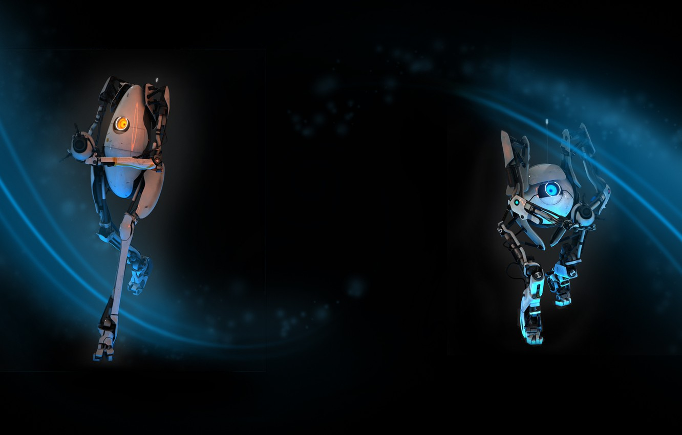 Wallpaper steam, Portal 2, Background profile, Bots images for