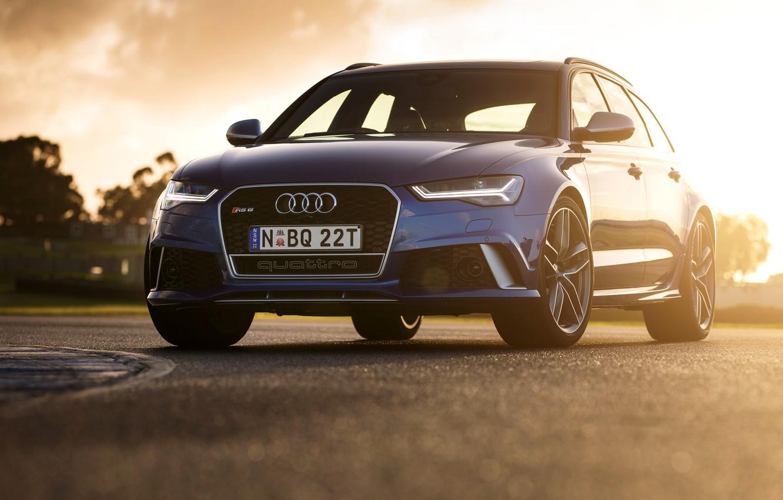 Photo wallpaper Audi, Audi, AU-spec, Before, 2015, RS 6