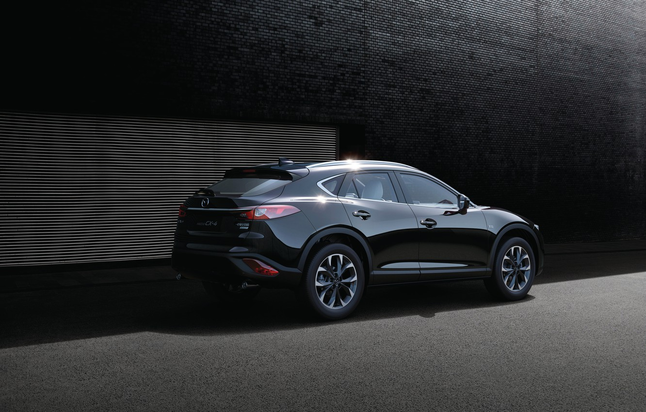 Photo wallpaper Mazda, Mazda, crossover, CX-4