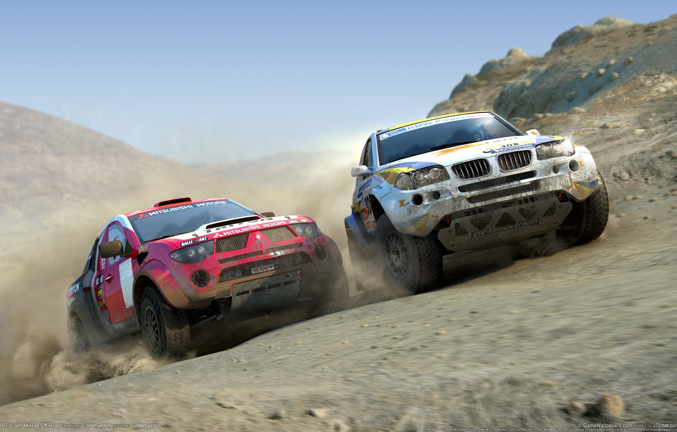 Photo wallpaper the game, race, Dirt
