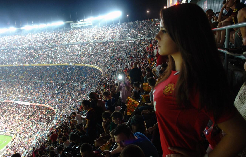 Photo wallpaper Barcelona, Barcelona, Manchester United, Manchester United
