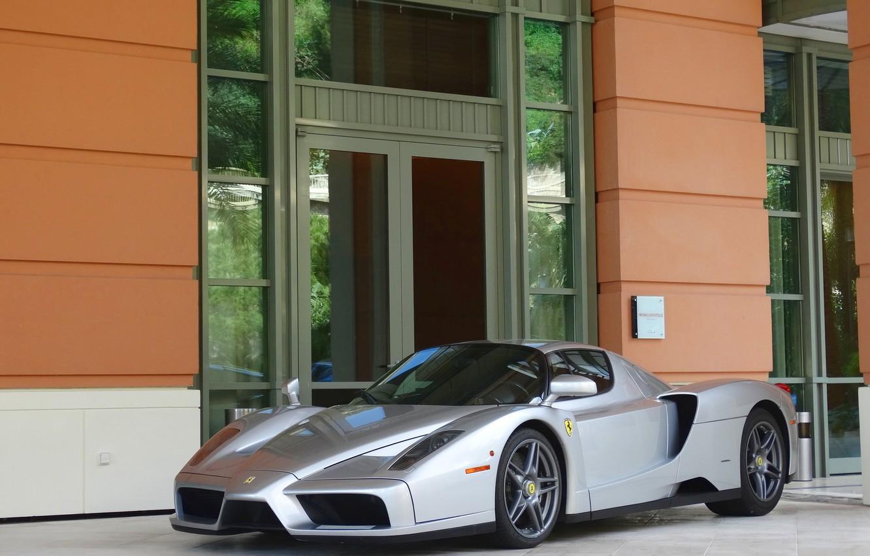 Photo wallpaper Ferrari, supercar, Enzo, street
