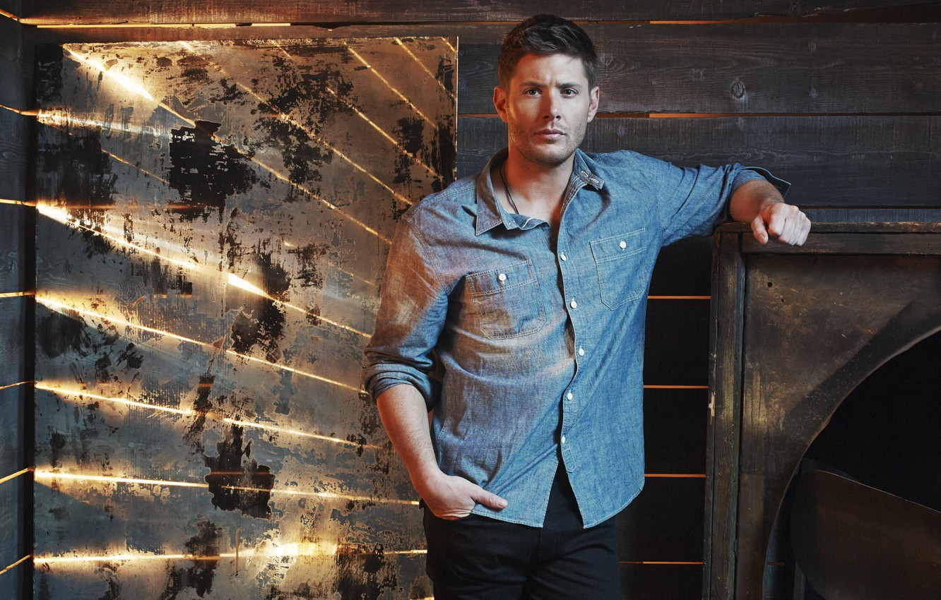 Photo wallpaper actor, Supernatural, Jensen Ackles, Supernatural, Dean Winchester, Jensen Ackles, promo