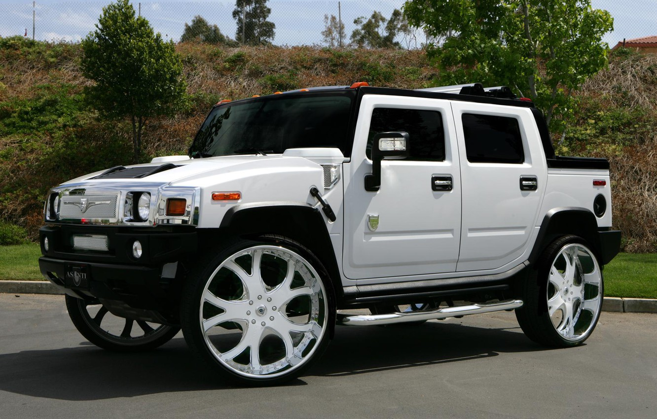 Photo wallpaper tuning, hummer, suv, asanti