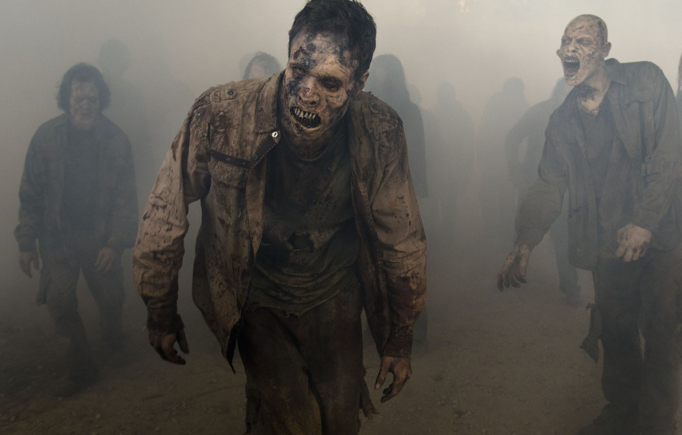 Wallpaper Wallpaper Zombie Dead Death Mist The Walking