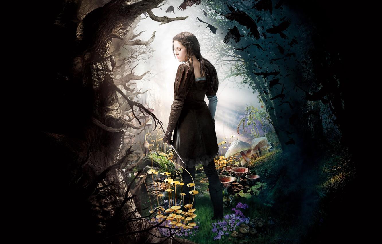 Photo wallpaper fantasy, Kristen Stewart, Kristen Stewart, poster, Snow white, Snow White and the Huntsman, Snow white …