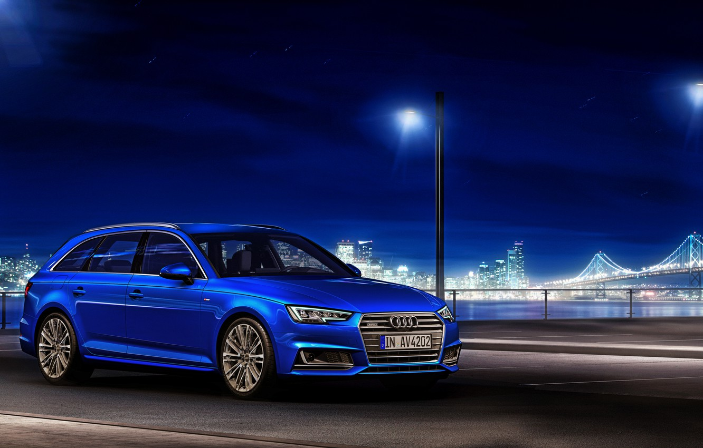 Photo wallpaper Audi, Audi, TDI, blue, quattro, universal, Before, 2015