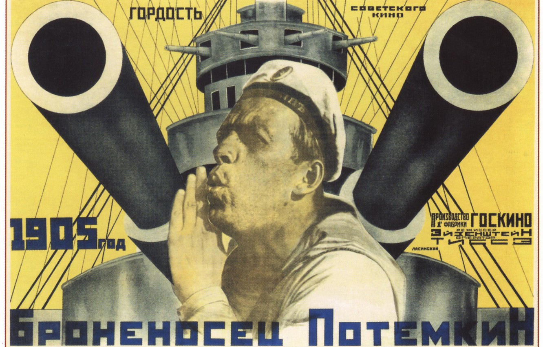 Photo wallpaper sailor, poster, Battleship Potemkin