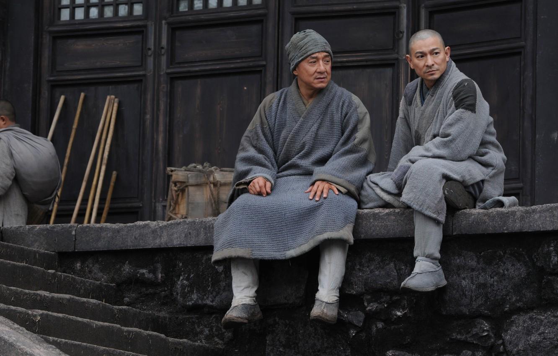 Photo wallpaper China, action, the monastery, Jackie Chan, Jackie Chan, monks, Shaolin, Andy Lau, San Siu Lam …