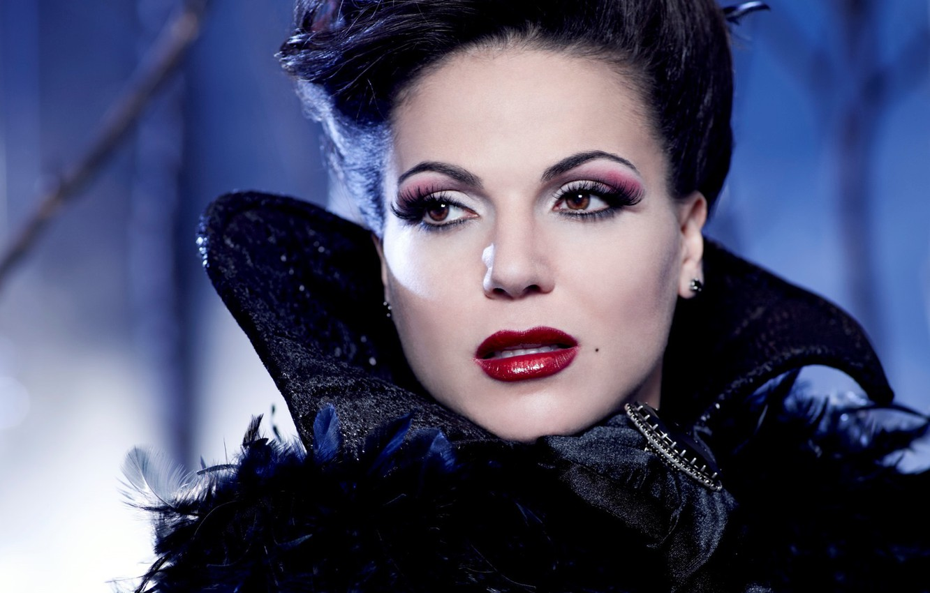 Photo wallpaper Wool Grill, Evil Queen, Regina Mills, Once Upon A Time