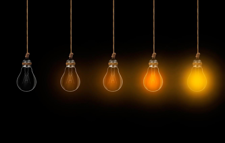 Photo wallpaper background, lamp, brightness