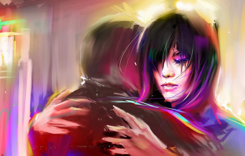 Photo wallpaper color, art, pair, bright, it