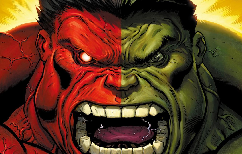 Photo wallpaper marvel, comics, hulk