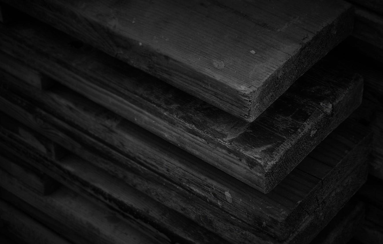 Photo wallpaper Board, Wood, Black, Texture, Textures, Boards, Wood, Wallpaper HD, Black Color, Black Color