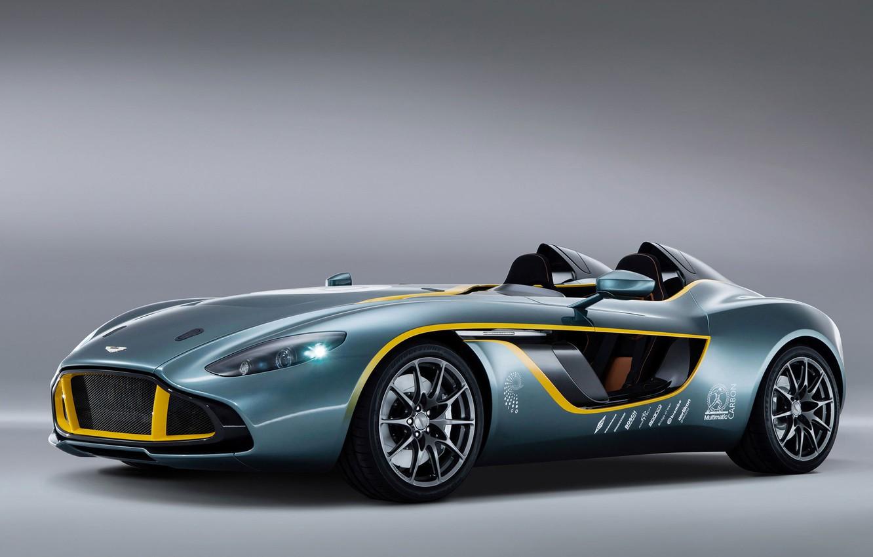 Photo wallpaper Concept, Aston Martin, Wallpaper, Speedster, CC100