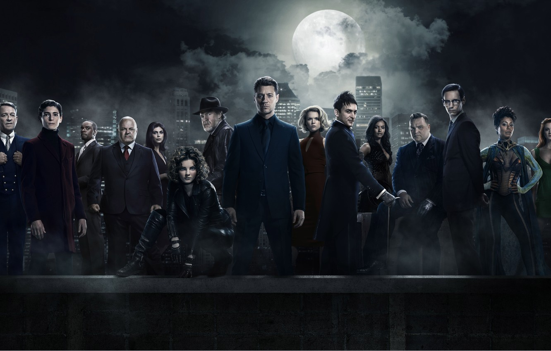 Wallpaper Girl Batman Man Cop Season 3 Gotham Tv