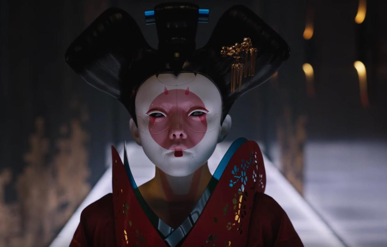 Wallpaper Cinema Japan Girl Robot Mecha Woman Movie Ghost