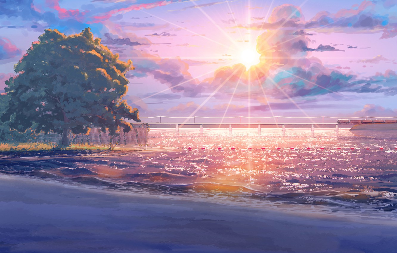 Photo wallpaper beach, everlasting summer, endless summer, iichan-eroge