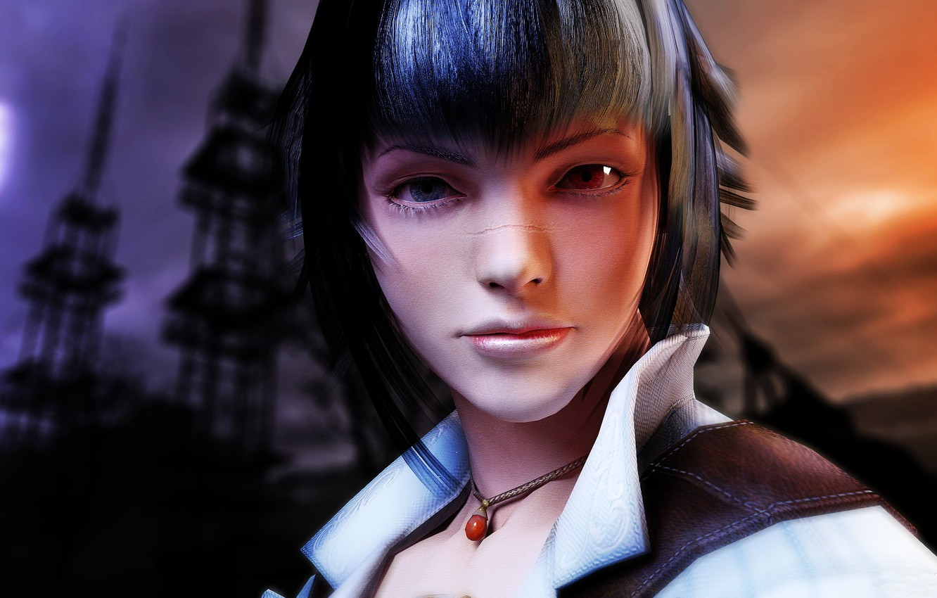 Wallpaper Eyes Girl Face Lady Devil May Cry Images For Desktop