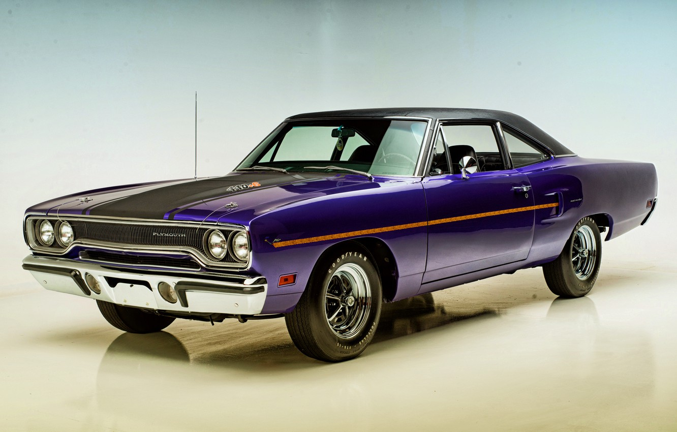 Photo wallpaper coupe, Coupe, 1970, Plymouth, Plymouth, Road Runner, road runner