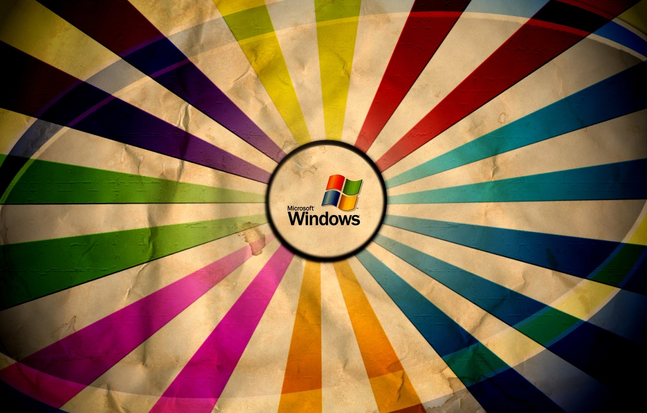Photo wallpaper color, colors, Microsoft Windows, wrinkled paper
