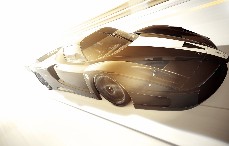 Photo wallpaper light, Ferrari, speed, GranTurismo6, FXX '07
