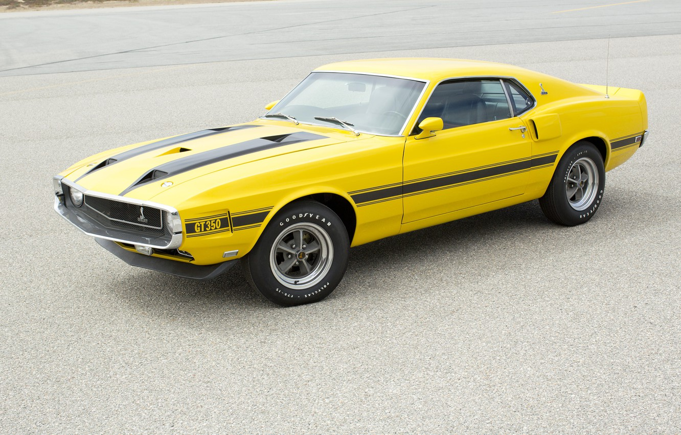 Photo wallpaper Shelby, 1969, GT350