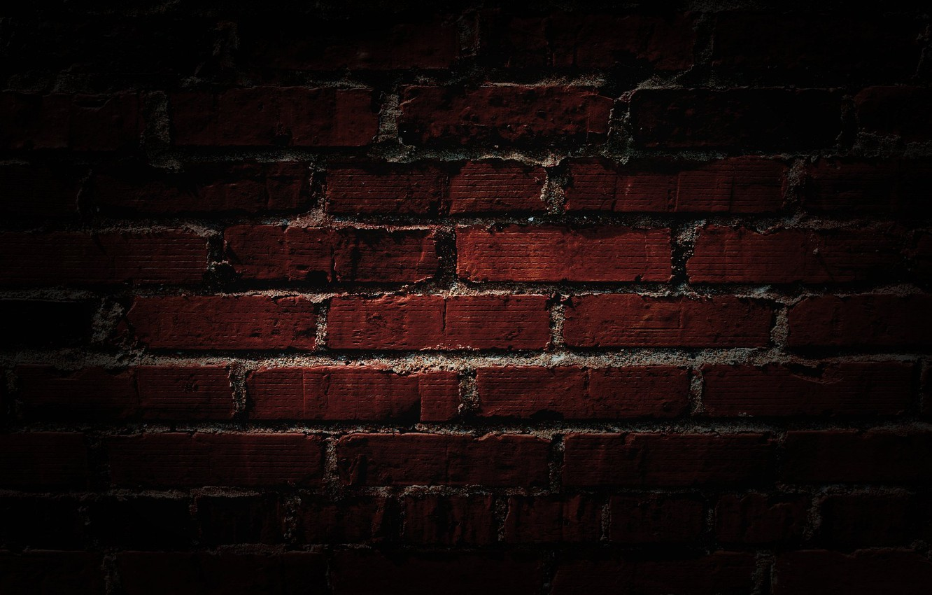 Photo wallpaper wall, texture, picture, image, brick